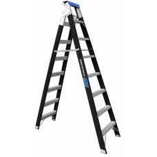 8 Step Fibreglass Dual Purpose Ladder - 150kgs Rated