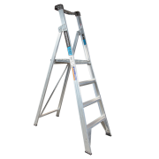 4 Step Aluminium Platform Ladder - 150kg Rated