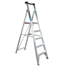 5 Step Aluminium Platform Ladder - 150kg Rated