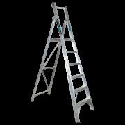6 Step Aluminium Platform Ladder - 150kg Rated