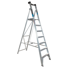7 Step Aluminium Platform Ladder - 150kg Rated