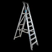 8 Step Aluminium Platform Ladder - 150kg Rated