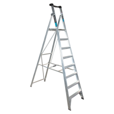 8 Step Aluminium Platform Ladder - 150kg Rated