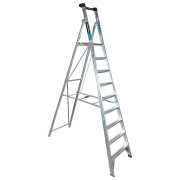 9 Step Aluminium Platform Ladder - 150kg Rated