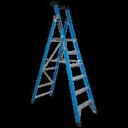 6 Step Fibreglass Platform Ladder - 150kgs Rated