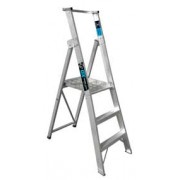3 Step Aluminium Platform Ladder - 150kg Rated